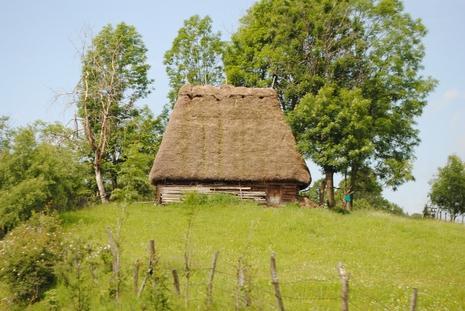 Tradycyjna chata rumuńska