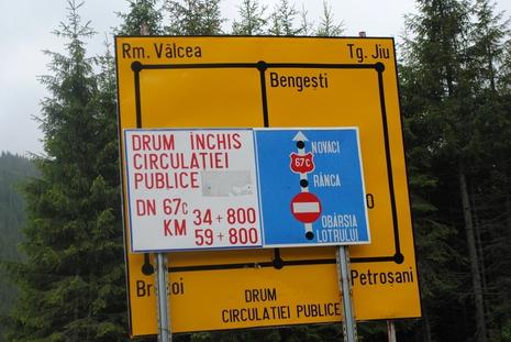 Objazd na Transalpinie