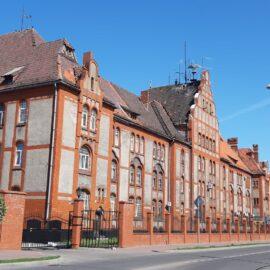 Pruski budynek w obwodzie