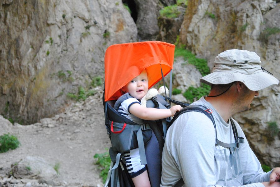 Nosidło plecakowe zapewni mobilność Waszemu dziecku